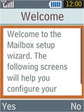 Samsung B2100 Xplorer - E-mail - Manual configuration - Step 10