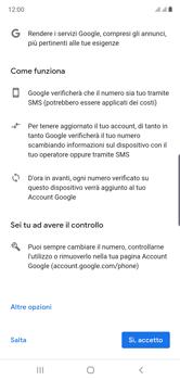 Samsung Galaxy Note 10 - Applicazioni - Configurazione del negozio applicazioni - Fase 14