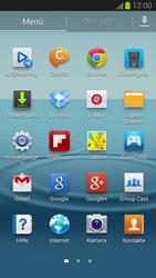 Samsung Galaxy S III - OS 4-1 JB - Ausland - Im Ausland surfen – Datenroaming - 1 / 1