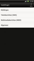 HTC S720e One X - SMS - Handmatig instellen - Stap 4