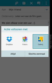 Samsung Galaxy Note Edge - e-mail - hoe te versturen - stap 13