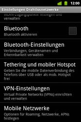 Alcatel OT-983 - Internet und Datenroaming - Manuelle Konfiguration - Schritt 5