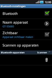 Samsung S5660 Galaxy Gio - Bluetooth - headset, carkit verbinding - Stap 9
