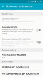 Samsung A510F Galaxy A5 (2016) - Fehlerbehebung - Handy zurücksetzen - Schritt 7