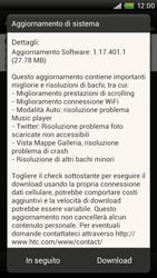HTC One X - Software - Installazione degli aggiornamenti software - Fase 9