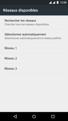 Wiko Rainbow Jam - Dual SIM - Réseau - Sélection manuelle du réseau - Étape 9