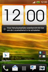 HTC A320e Desire C - internet - handmatig instellen - stap 1