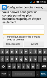 Alcatel OT-4033X Pop C3 - E-mail - Configurer l