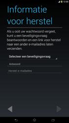 Sony C6833 Xperia Z Ultra LTE - apps - account instellen - stap 12