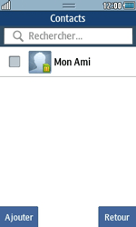 Samsung Wave 723 - Contact, Appels, SMS/MMS - Envoyer un SMS - Étape 6