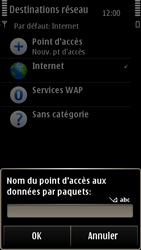 Nokia E7-00 - Internet - configuration manuelle - Étape 11