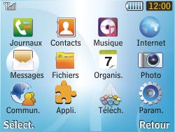 Samsung S3350 Chat 335 - E-mail - envoyer un e-mail - Étape 2