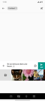 OnePlus 7T - Contact, Appels, SMS/MMS - Envoyer un MMS - Étape 10