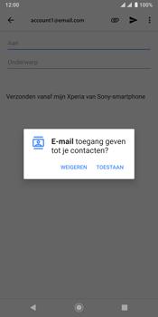 Sony xperia-xz3-dual-sim-model-h9436 - E-mail - Bericht met attachment versturen - Stap 5