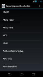 Motorola XT890 RAZR i - MMS - Manuelle Konfiguration - Schritt 13