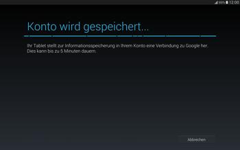 Samsung T805 Galaxy Tab S - Apps - Einrichten des App Stores - Schritt 19