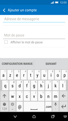 HTC One M9 - E-mail - Configurer l