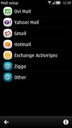 Nokia 700 - Email - Manual configuration - Step 5