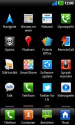 LG P970 Optimus Black - netwerk en bereik - gebruik in binnen- en buitenland - stap 3