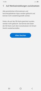 Samsung Galaxy S20 Plus 5G - Gerät - Zurücksetzen auf die Werkseinstellungen - Schritt 8