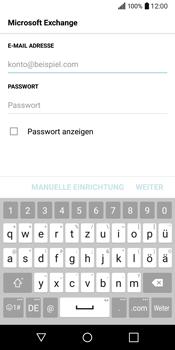 LG Q6 - E-Mail - Konto einrichten (outlook) - Schritt 7