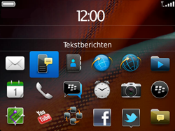 BlackBerry 9900 Bold Touch - MMS - hoe te versturen - Stap 2