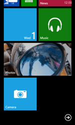 Nokia Lumia 635 - Getting started - Personalising your Start screen - Step 6