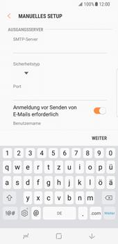 Samsung Galaxy S8 - E-Mail - Manuelle Konfiguration - Schritt 12