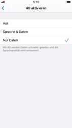 Apple iPhone 8 - iOS 13 - Netzwerk - Netzwerkeinstellungen ändern - Schritt 6