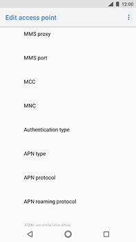 Nokia 6 (2018) - MMS - Manual configuration - Step 10