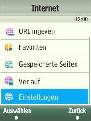 Samsung TouchWiz - Internet - Manuelle Konfiguration - 5 / 13