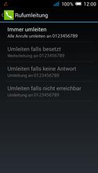 Alcatel Pop C7 - Anrufe - Rufumleitungen setzen und löschen - 10 / 11