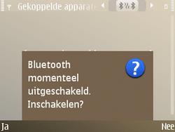 Nokia E72 - Bluetooth - koppelen met ander apparaat - Stap 9