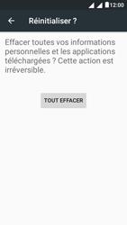 Alcatel Pixi 4 (5) - Téléphone mobile - réinitialisation de la configuration d