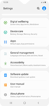 Samsung Galaxy A20e - Device - Factory reset - Step 5