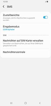 Samsung Galaxy S9 Plus - Android Pie - SMS - Manuelle Konfiguration - Schritt 10