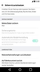 LG X Power - Fehlerbehebung - Handy zurücksetzen - Schritt 7
