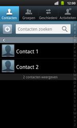 Samsung I9001 Galaxy S Plus - contacten, foto