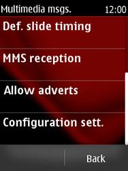 Nokia Asha 300 - MMS - Automatic configuration - Step 9