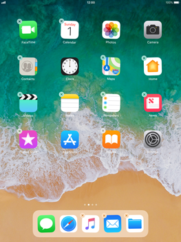 Apple iPad mini 2 iOS 11 - Getting started - Personalising your Start screen - Step 3