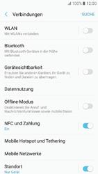 Samsung Galaxy A3 (2017) - Ausland - Im Ausland surfen – Datenroaming - 7 / 11