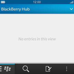 BlackBerry Q10 - E-mail - Sending emails - Step 5