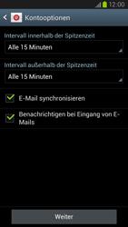Samsung Galaxy S III LTE - E-Mail - Manuelle Konfiguration - Schritt 15