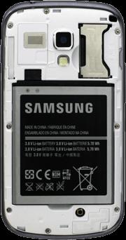 Samsung Galaxy Trend Plus - SIM-Karte - Einlegen - 3 / 9