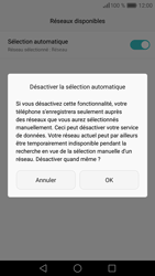 Huawei Huawei P9 - Réseau - Sélection manuelle du réseau - Étape 8