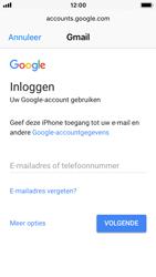 Apple iPhone SE - iOS 11 - E-mail - handmatig instellen (gmail) - Stap 6