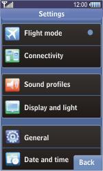 Samsung S8500 Wave - Internet - Manual configuration - Step 4
