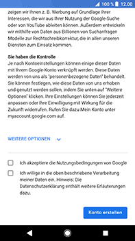 Sony Xperia XZ2 Premium - Apps - Konto anlegen und einrichten - Schritt 14