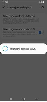 Samsung Galaxy A40 - Aller plus loin - Mettre à jour le logiciel interne de votre mobile - Étape 7