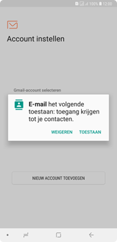 Samsung galaxy-a7-dual-sim-sm-a750fn - E-mail - Account instellen (POP3 met SMTP-verificatie) - Stap 5